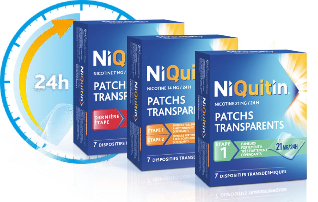Patchs Niquitin Transparent