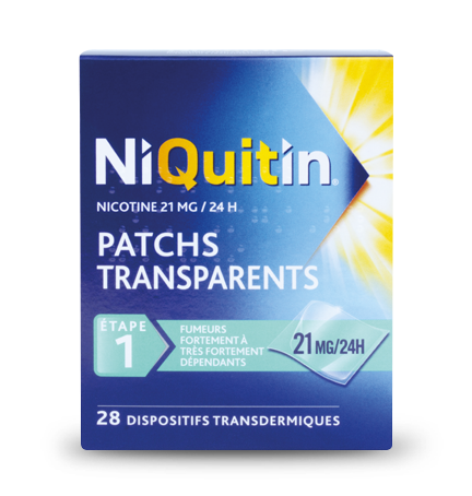 Niquitin patchs 21mg